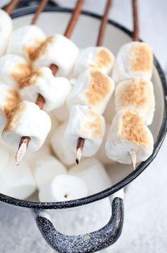 Roasted marshmallows...what's better for summer dessert?