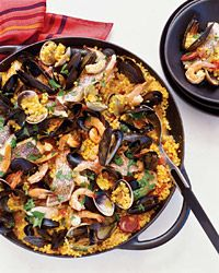 Sardinian-Style Paella - Paella on Food & Wine