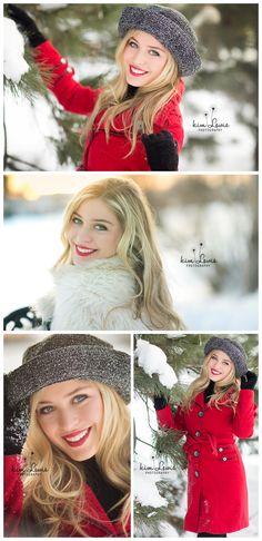 High School Senior Pics | Kim Lewis Photography | Orland Park, IL | Winter Pics | Carl Sandburg High School