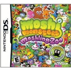#MonstroCity #MoshiMonsters #Games for #Nintendo #MoshiGifts