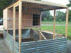 Chicken Coop - pvc door opener allows you to open coop door from outside. Building a chicken coop does not have to be tricky nor does it have to set you back a ton of scratch. Backyard Coop, Backyard Chicken Coops, Chicken Coop Plans, Building A Chicken Coop, Diy Chicken Coop, Backyard Farming, Chickens Backyard, Chicken Tractors, Chicken Pen