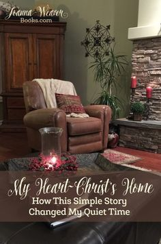 """Joanna Weaver shares how Robert Munger's classic story, """"My Heart - Christ's Home"""" transformed her quiet time. Includes updates on Word of God Speak 2016."""