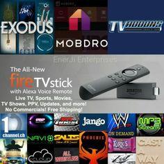 Amazon fire tv stick jailbroken W/Kodi 16.1,Mobdro