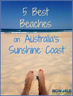 5 Best Beaches on the Sunshine Coast Australia {Big World Small Pockets}