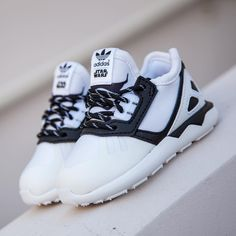 "3583a3673fd BAIT Inc. on Instagram  ""Adidas Toddlers Star Wars Tubular Runner in white  and core black is available in sizes 5-10 for  70."