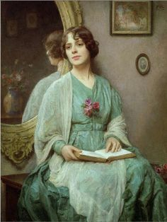 How I would like to converse with you mademoiselle and have you share your thoughts on the book you behold. Ethel Porter Bailey