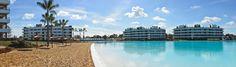 Playas y una laguna cristalina de 3,5 hectáreas en @LagoonPilar