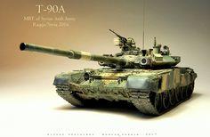 Т-90А Сирийской Арабской Армии (Ракка/ 2016) — Каропка.ру — стендовые модели, военная миниатюра