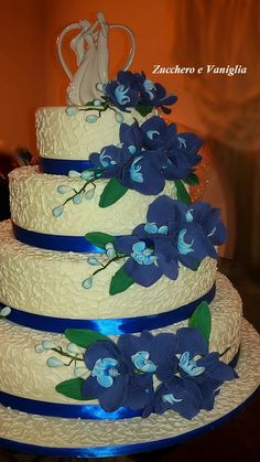 wedding cake orchidee