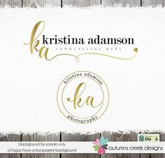 © design & photos copyright autumns creek 2011 item: [ka - hand drawn swirls at the end of your initials then a sweet little heart. i can change the name, colors and font to whatever you want background is for proof only, your logo will have a transparent background details: all my logos and illustrations are custom drawn by me for you. whats included: i include text (name and tagline) and a color change with every premade :) your final files: i will be sent in 5 formats eps (vector), p...