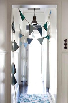 Hallway decor idea for kids..