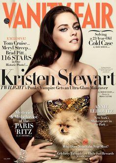 Linda a makeup da Kristen!