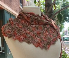 Notes: This pattern uses U.S. terminology. Materials: 1 skein Araucania Chaiten and Size L hook, or 1 skein Noro Taiyo sock yarn and Size I hook (I have found that a plastic hook works well with th...