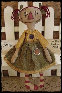 Simple Rag Doll Patterns | raggedy ann doll pattern judy here is a new pattern a raggedy doll ...