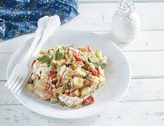 20+1 σαλάτες που πρέπει να δοκιμάσετε! - www.olivemagazine.gr Chrismas Cake, Cake Roll Recipes, Cooking Recipes, Healthy Recipes, Appetisers, Rolls Recipe, Salad Dressing, Food Art, Pasta Salad