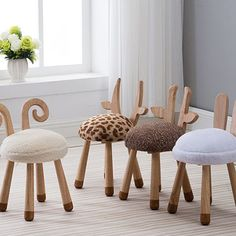 kids wooden chair on sale at reasonable prices, buy Modern Design Solid Wooden animal design Kids Baby Chair, cute lovely Child Kid Wood Chair, nice fashion design baby chair 1 PC from mobile site on Aliexpress Now! Playroom Furniture, Baby Furniture, Rustic Furniture, Children Furniture, Office Furniture, Furniture Outlet, Discount Furniture, Furniture Stores, Furniture Ideas