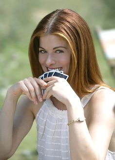 """Debra Messing as Kat Ellis in """"The Wedding Date"""" - Movie still no 3 Melissa George, Debra Messing, Will And Grace, The Wedding Date, Auburn Hair, Redheads, Beautiful People, Beautiful Women, Actors & Actresses"""