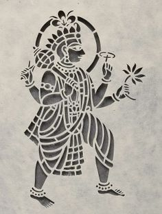 Krishna Saanjhi Wall Art - 13.6in x 10.6in