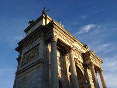 Arco della pace - Corso Sempione - Milano