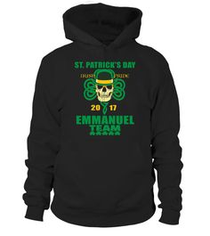 # ST.PATRICK'S DAY IRISH PRIDE 2017 EMMANUEL Team .  HOW TO ORDER:1. Select the style and color you want: 2. Click Reserve it now3. Select size and quantity4. Enter shipping and billing information5. Done! Simple as that!TIPS: Buy 2 or more to save shipping cost!This is printable if you purchase only one piece. so dont worry, you will get yours.Guaranteed safe and secure checkout via:Paypal | VISA | MASTERCARD
