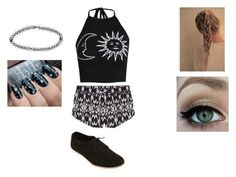"""Black and White"" by lliilyy on Polyvore"