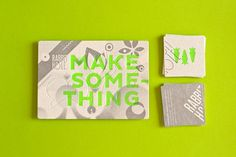 """Amazing project from The Hungry Workshop, a promotional piece for The Rabbit Hole Ideation Café, """"a place to meet, work, share and create."""" Die cuts allow people to build tiny paper rabbit."""