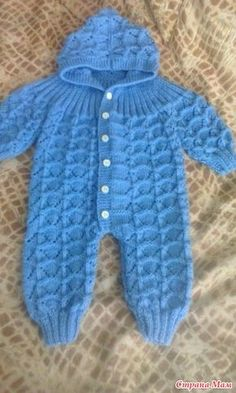 Ideas Crochet Patterns For Kids Blanket Free Knitting Baby Boy Knitting Patterns, Baby Cardigan Knitting Pattern, Knitting For Kids, Baby Patterns, Free Knitting, Afghan Patterns, Crochet Baby Clothes, Crochet Baby Hats, Baby Romper Pattern