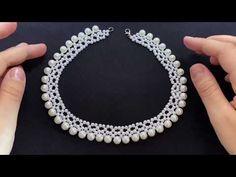 Fashion Jewelry Necklaces, Bead Jewellery, Jewlery, Beaded Necklace, Beaded Bracelets, Bead Crafts, Beading Patterns, Seed Beads, Handmade Jewelry