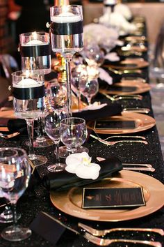 Black and Gold Party Inspiration