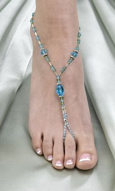 Beaded Foot Jewelry - INSPIRATION