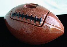 Vintage Football Cookie Jar made in USA by Treasure Craft