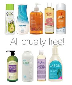 CRUELTY FREE BODY WASH BRANDS- CLICK FOR A LIST OF BRANDS | Beauty4Free2U