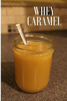 How to Make Whey Caramel – Rebooted Mom Transform whey from cheese or yogurt making into a delicious, whey caramel that's perfect for drizzling on desserts, pancakes or even ice cream. Whey Recipes, Goat Milk Recipes, Caramel Recipes, Yogurt Recipes, Cheese Recipes, Dessert Recipes, Dairy Recipes, Cream Recipes, Recipies