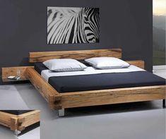 Bed Frame Design, Sofa Bed Design, Room Design Bedroom, Modern Bedroom Design, Bedroom Decor, Floor Bed Frame, Bed Frame And Headboard, Low Wooden Bed Frame, Japanese Style Bedroom