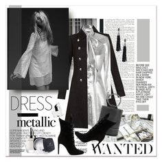 """""""#MetallicDresses"""" by stylemeup-649 ❤ liked on Polyvore featuring Hedi Slimane, Monsoon, Yves Saint Laurent, Free People, Simon Miller, Sophie Buhai, Oscar de la Renta, Marc Jacobs and Kendall + Kylie"""