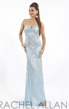 Embellished Sweetheart Gown by Rachel Allan 5712 by Rachel Allan Prima Donna