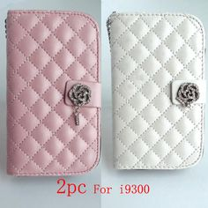 2PC Card Wallet flower Diamond Case Cover For SamSung Galaxy S3 GT i9300 White  Best item ever seen, with very good price! Recommend!