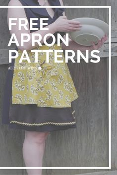 Keep your clothes spic and span while you cook with a DIY apron. These free apron patterns will show you how to sew a variety of aprons in every style you could imagine.