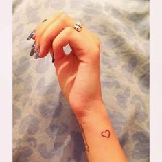small heart tattoo #ink #girly #tattoos #YouQueen