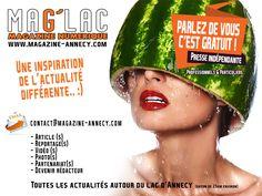 """MAG'LAC relance sa campagne """"Parlez de vous c'est gratuit !"""" #annecy #AnnecyLeVieux #Seynod #CranGevrier Pro & particuliers du bassin.."""