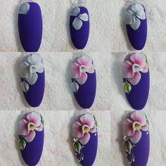 Nail Art Decoration With Rhinestones And Glitter 3d Nail Art, Jolie Nail Art, 3d Acrylic Nails, 3d Art, 3d Nails, Love Nails, Fabulous Nails, Gorgeous Nails, Pretty Nails
