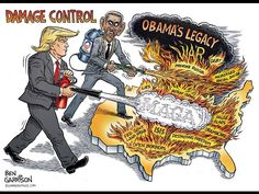 Man behind famous political cartoons explains why he supports President ...