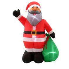 1000 images about love holiday inflatables on pinterest for Inflatable christmas decorations home depot