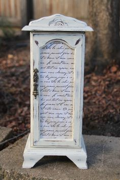 Beautiful Vintage Upcycled Jewelry Box by TammysShabbyShack, $32.00