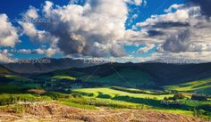 New Zealand landscape New Zealand Landscape, Green Valley, Beautiful World, Natural Beauty, Landscapes, Around The Worlds, Bucket, Marvel, Stock Photos