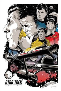 Star Trek 50 Artists 50 Years celebrates the rich history of the sci-fi series. Check out some of the funny, colourful and stunning pieces in the…