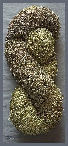 Bronze Rayon Loop Yarn