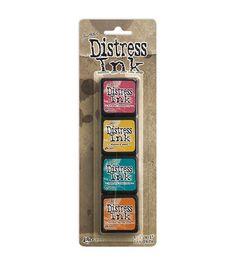 Distress Mini Ink Kits-Kit 1...love these