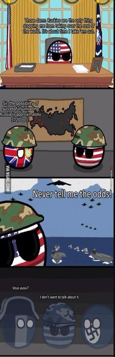 Those damn ruskies!