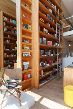 Uptown Bookstore in Rio de Janeiro by Paula Neder